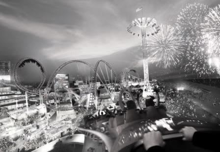 كيف ولكن ConeyIsland-Rollercoaster