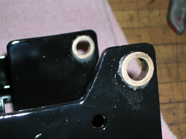Custom Mower Deck Rehab ClutchShaftBushings02