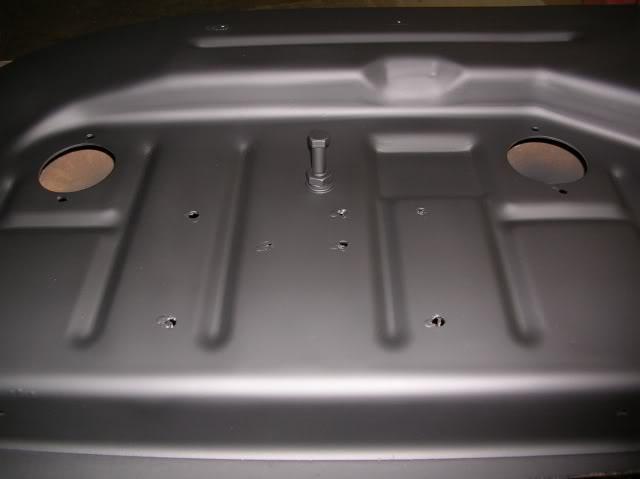Custom Mower Deck Rehab IdlerArmStop02
