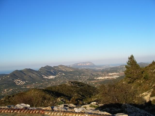el monte alicantino y el rastro de La Nucia P3222690