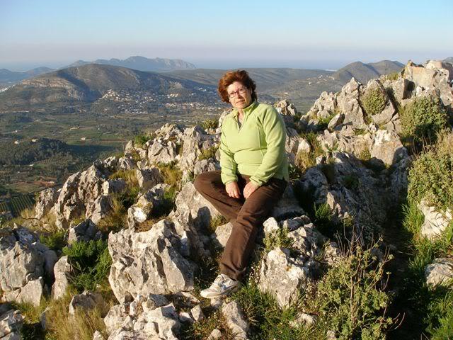 el monte alicantino y el rastro de La Nucia P3222692