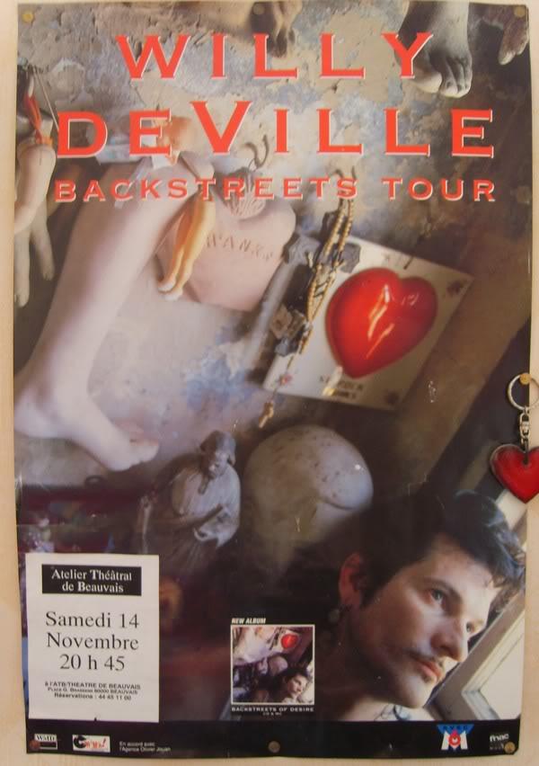 Mink DeVille Affichewillydeville-1