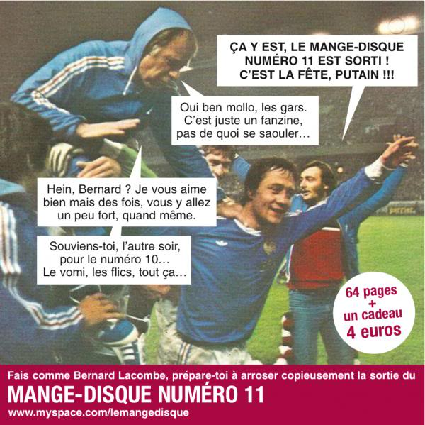 Zic' Presse Magazine Mange-disqueN11