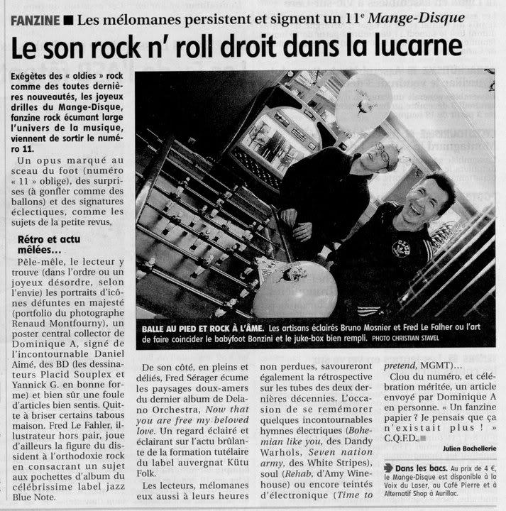 Zic' Presse Magazine Mange-disquepresse