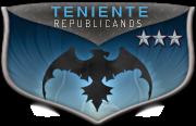 Teniente:Republicanos