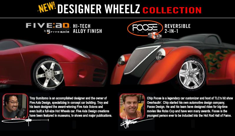 New Designer Wheelz Collection! DesignerWheelz
