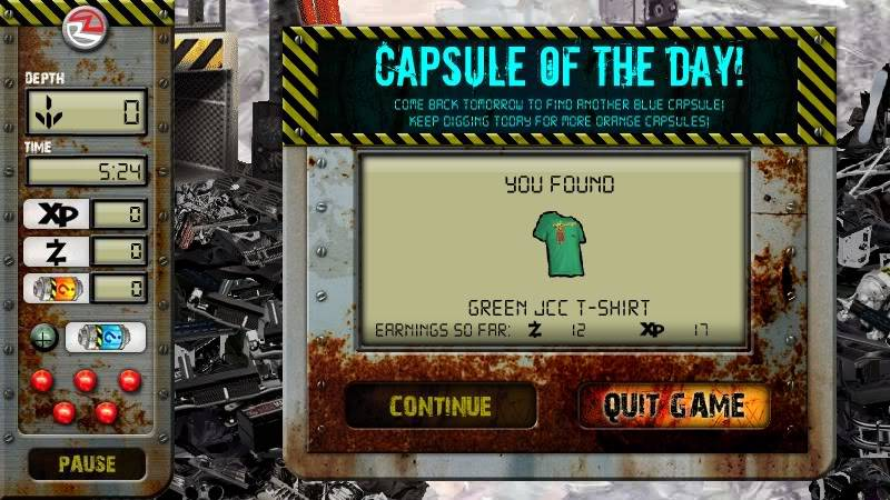 Junk Canyon Claw: Capsule of the day ScreenShot004-capsule