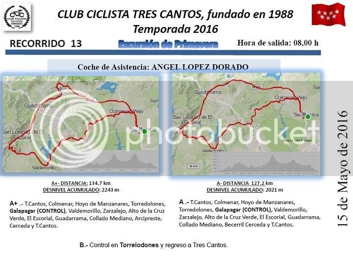 CARRETERA RUTA 13-DOMINGO 15/05/2016 08:00 h. ¡FOTOS! Ruta%2013