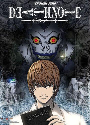 Death Note TEXGEE032wallscrolllightandRyuk