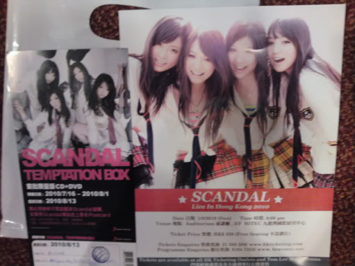 SCANDAL Live in HK 2010 review IMG195