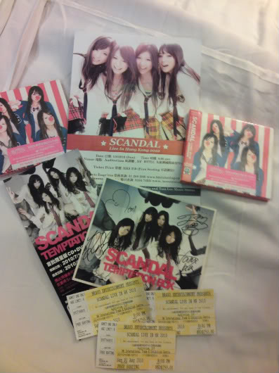 SCANDAL Live in HK 2010 review IMG200