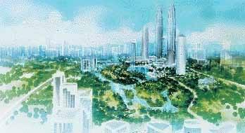 1998 - Petronas Twin Towers Crop