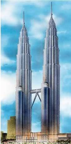 1998 - Petronas Twin Towers Draw