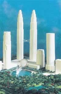 1998 - Petronas Twin Towers Mod