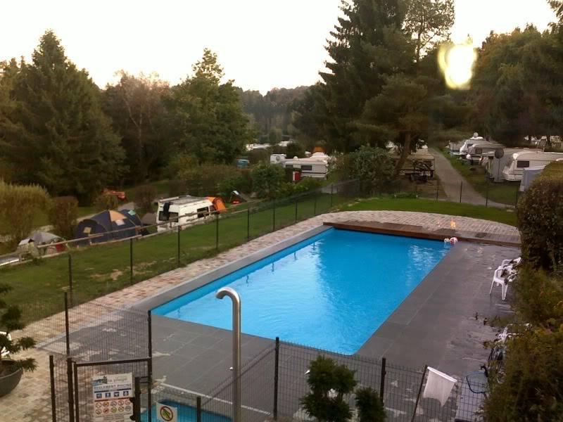 "Weekendje camping ""la plage"" robertville 26092009220"