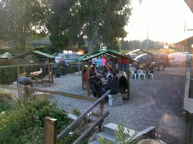 "Weekendje camping ""la plage"" robertville 26092009222"