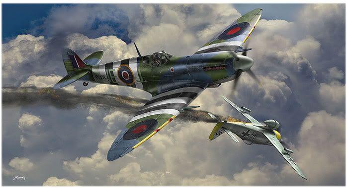 Parabéns à Esquadrilha FENIX! Spitfire-Mk-IXC-144Sqd-RCAF-jul-194