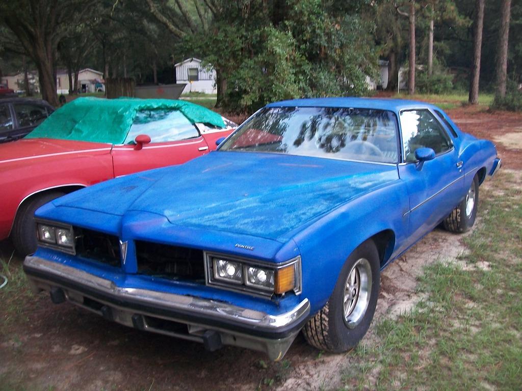 1976 & 1977 Pontiac Lemans Coupes for sale. Panama City, FL 100_6780