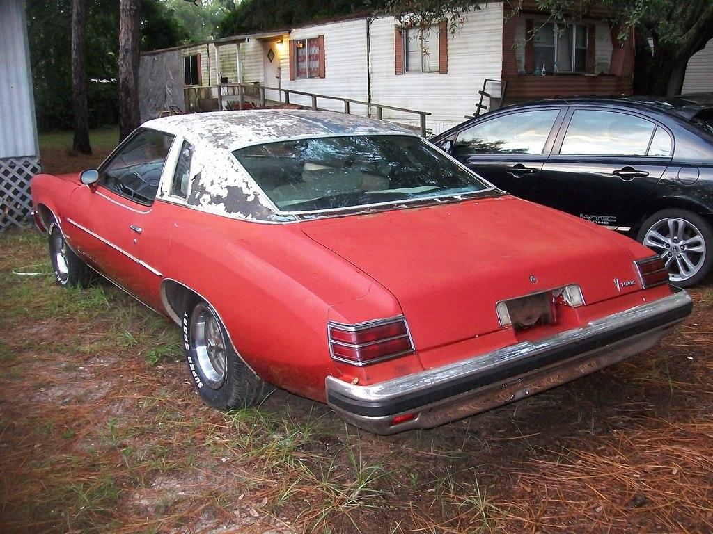 1976 & 1977 Pontiac Lemans Coupes for sale. Panama City, FL 100_6792
