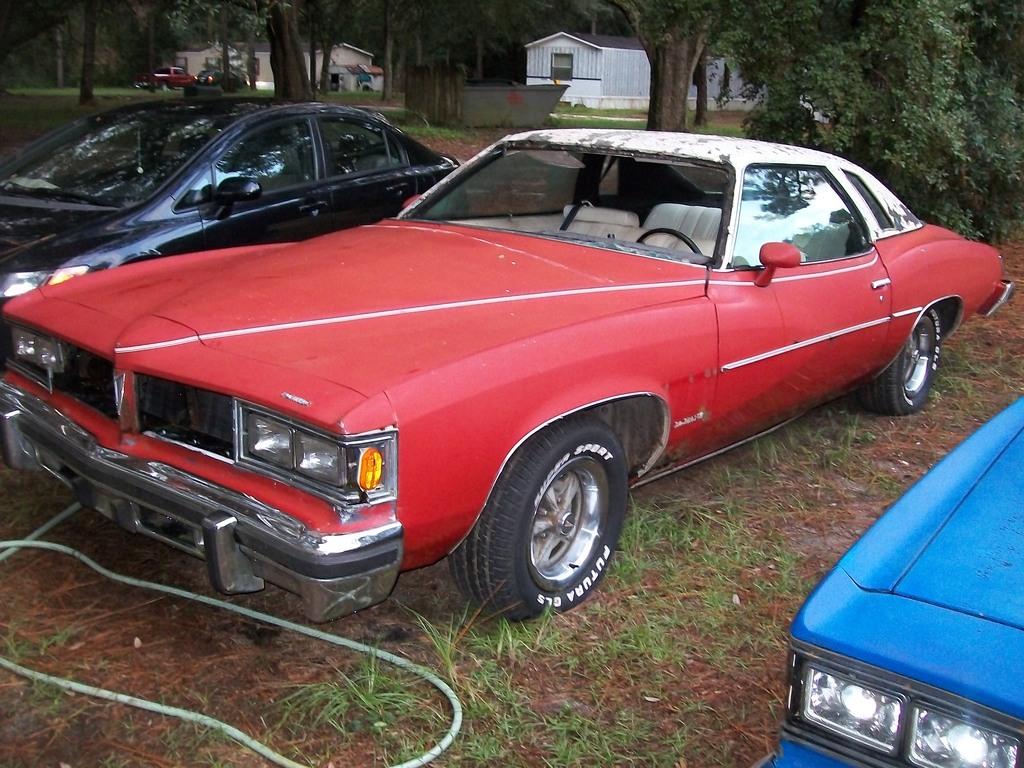 1976 & 1977 Pontiac Lemans Coupes for sale. Panama City, FL 100_6793