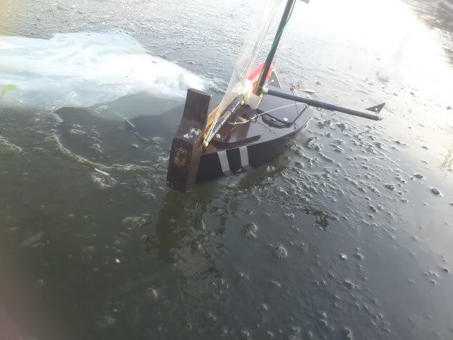 Barco Rompe Hielos RC **Brico Artesanal** Lagohelado012