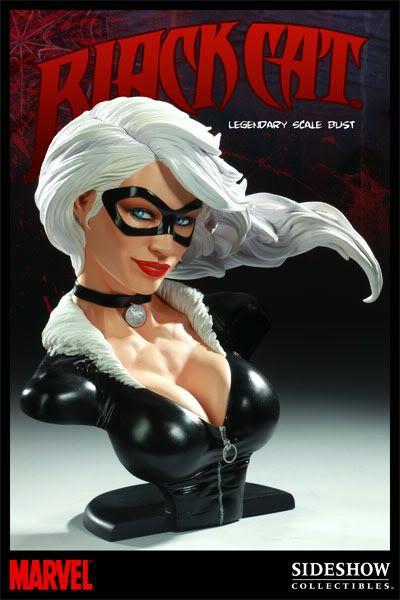 Sideshow Marvel: Black Cat Legendary Scale Bust 200046_press01-001