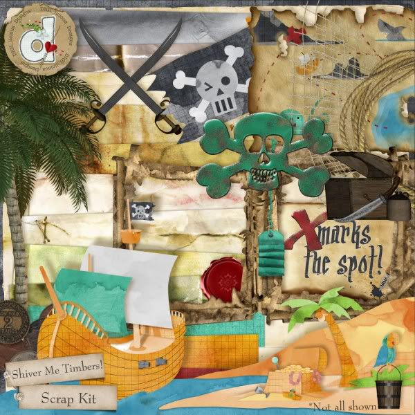 """Shiver Me Timbers""!! Pirate Kit by DIGI_licous Designs Digilicious_shivermetimbers_prev036"