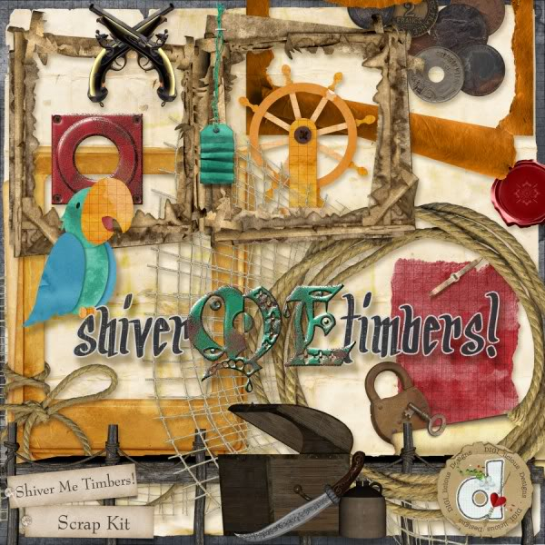 """Shiver Me Timbers""!! Pirate Kit by DIGI_licous Designs Digilicious_shivermetimbers_prev046"