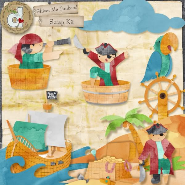 """Shiver Me Timbers""!! Pirate Kit by DIGI_licous Designs Digilicious_shivermetimbers_prev056"