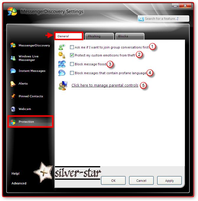 برنامج Messenger Discovery لعشاق المسنجر.. أضف إمكانيات مميزة لمسنجرك .. الشرح Sshot-9