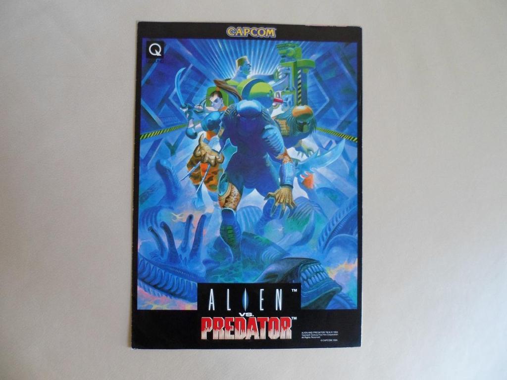 [VDS] Neo Geo and Capcom promo-posters Alienvspredator-front