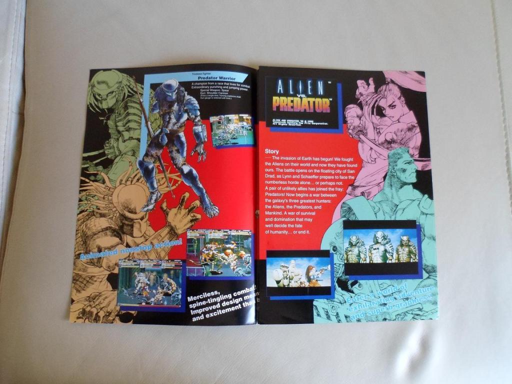 [VDS] Neo Geo and Capcom promo-posters Alienvspredator-inside1