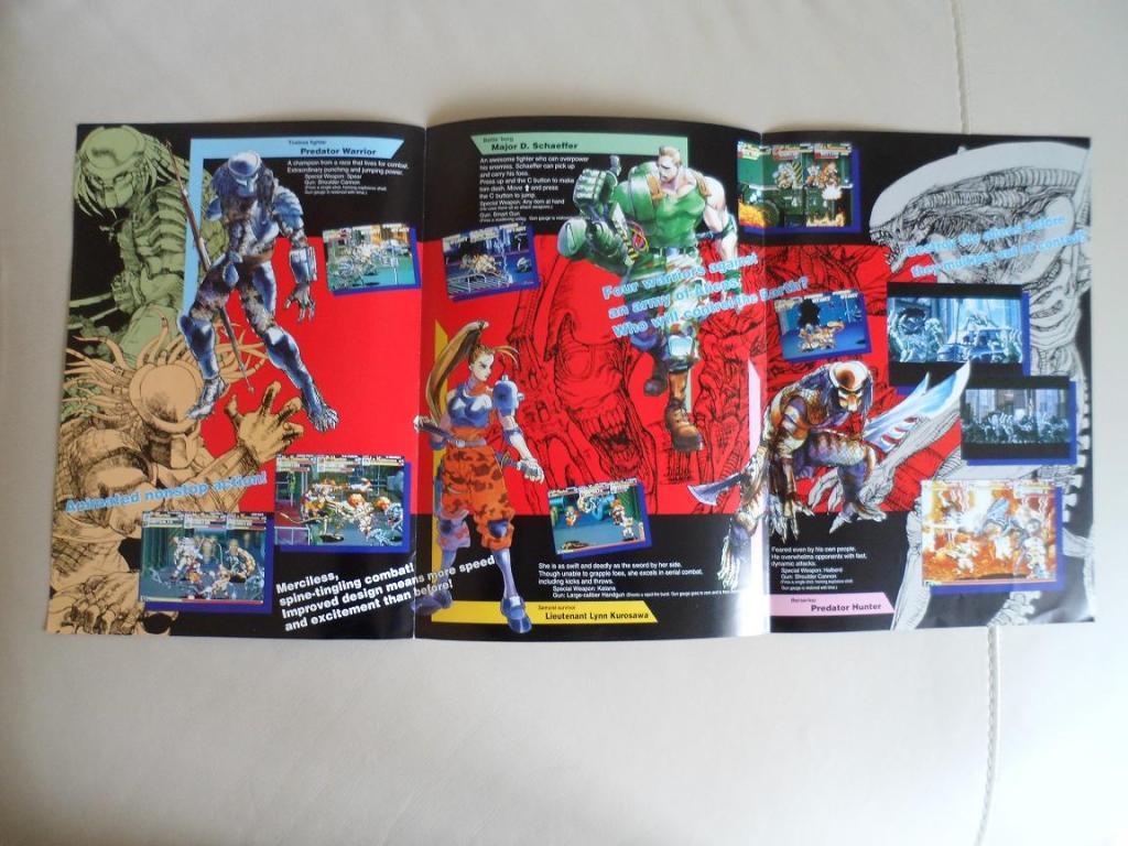 [VDS] Neo Geo and Capcom promo-posters Alienvspredator-inside2