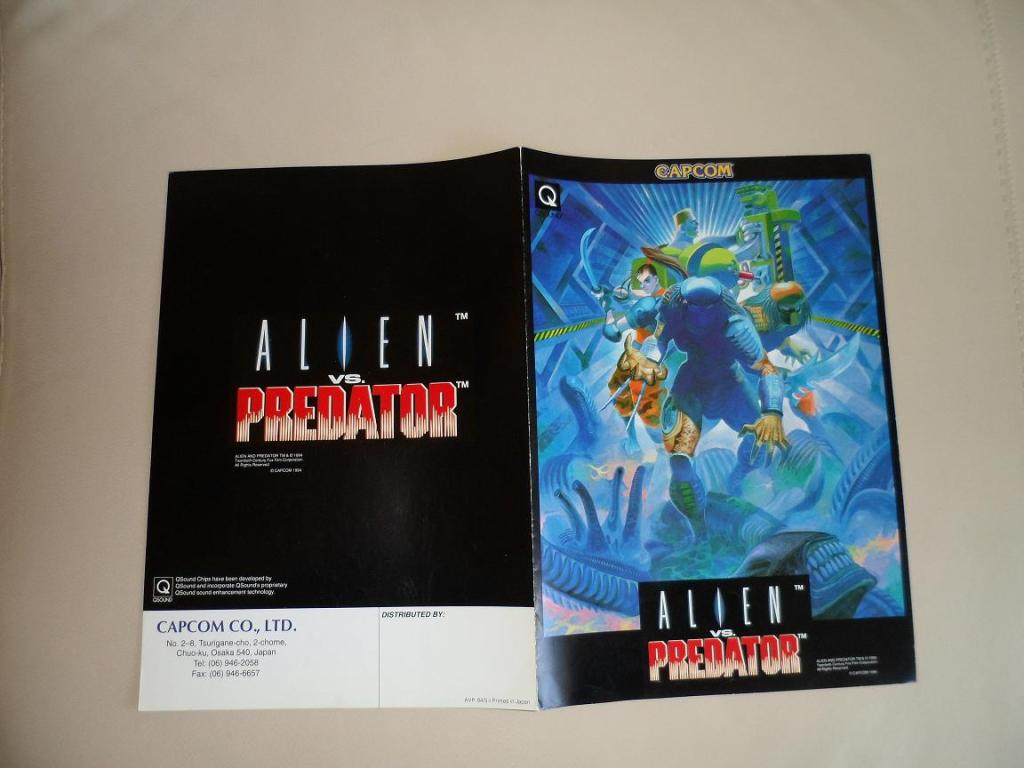 [VDS] Neo Geo and Capcom promo-posters Alienvspredator-retro