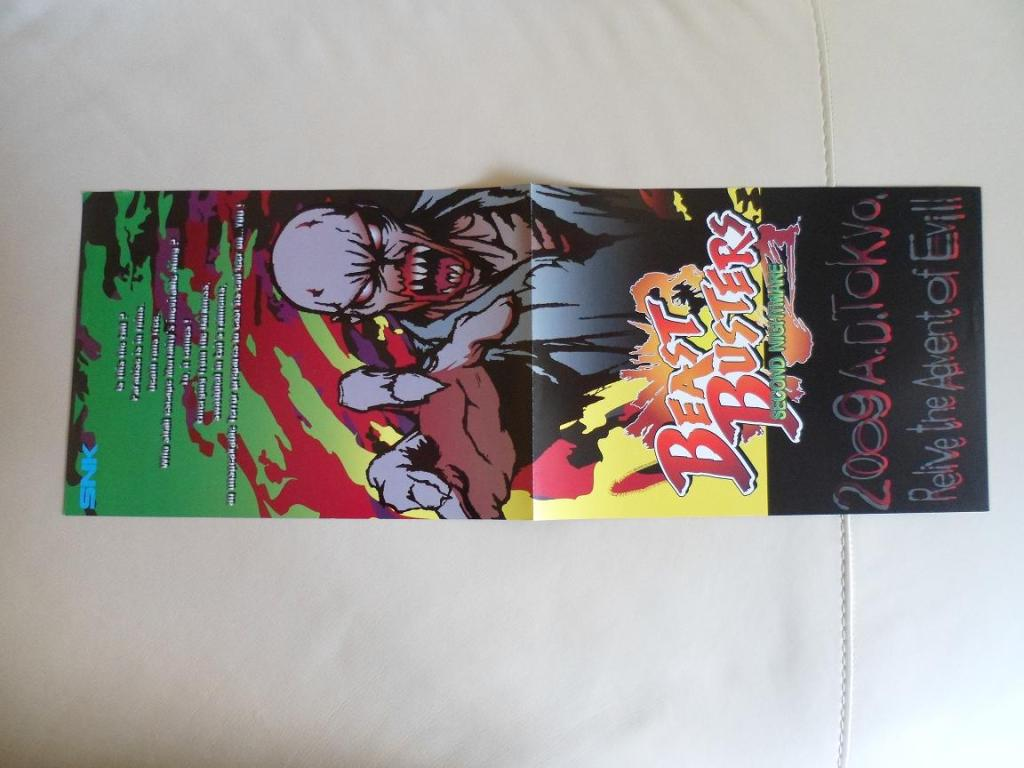[VDS] Neo Geo and Capcom promo-posters Beastbusters-front