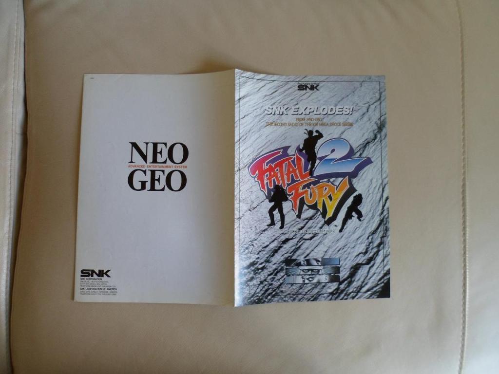 [VDS] Neo Geo and Capcom promo-posters Fatalfury2-retro