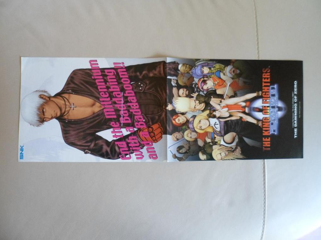[VDS] Neo Geo and Capcom promo-posters Kof00-front