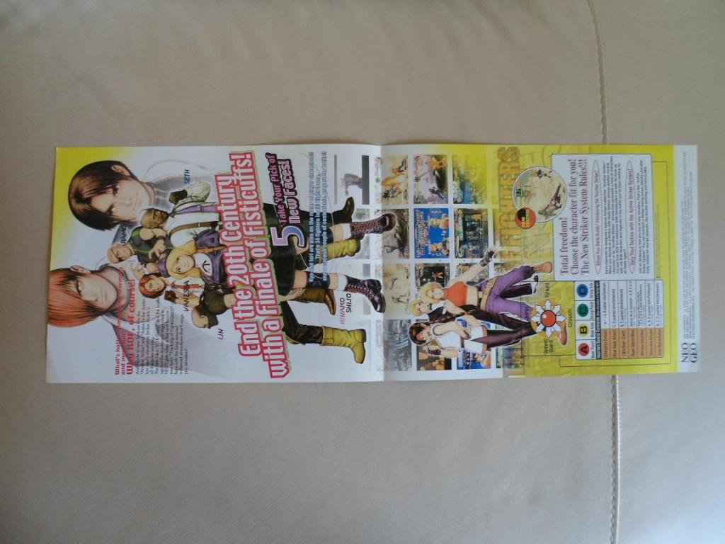 [VDS] Neo Geo and Capcom promo-posters Kof00-retro
