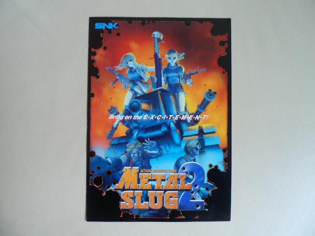[VDS] Neo Geo and Capcom promo-posters Metalslug2-front