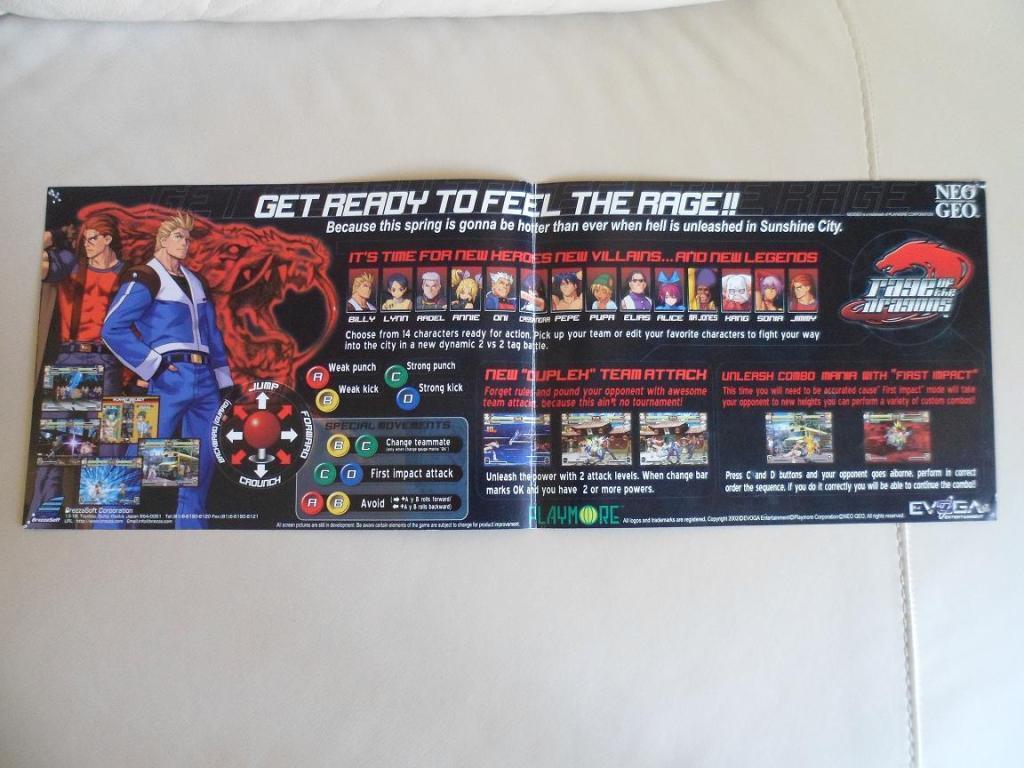 [VDS] Neo Geo and Capcom promo-posters Rageofdragon-retro