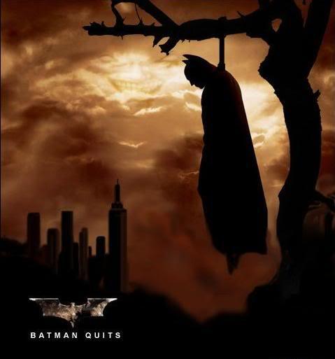 New Batman is here! Batman_quits