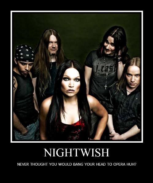 Motivational Poster Nightwish-2