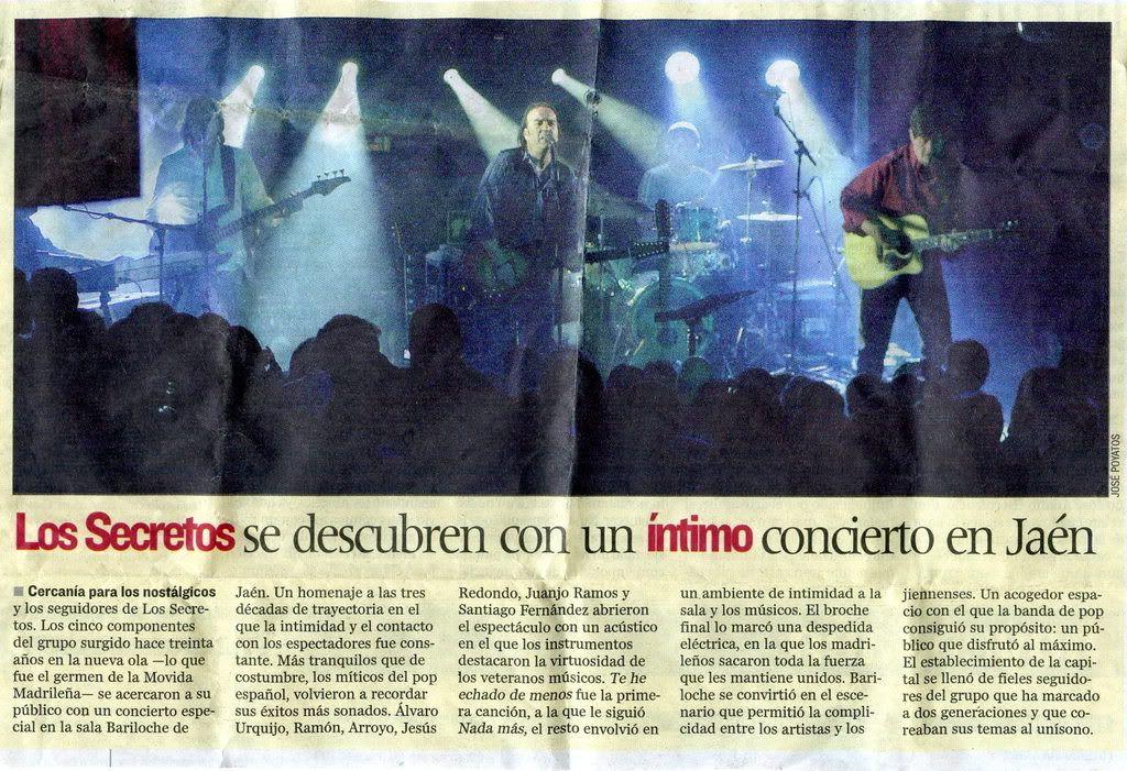 Los Secretos en Jaén