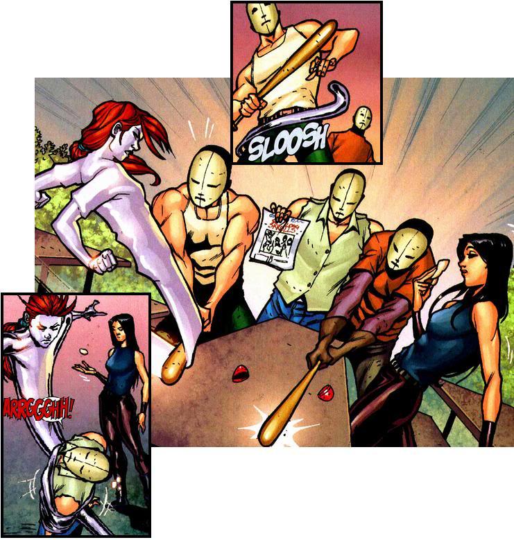 X-Men Nº103 (Julho/2010) Mercury02