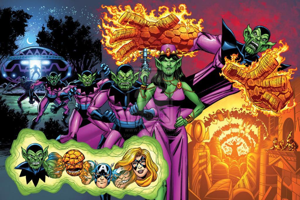 Raças do RPG Marvel_universe__the_skrulls_by_bennyfuentes-d5d36r5