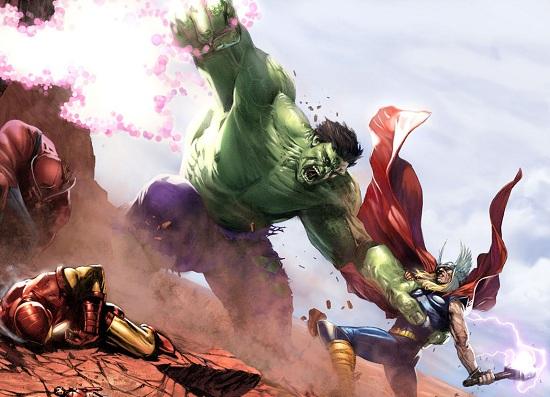 Duelo da Semana: Hulk Vs Thor Thorvshulk00