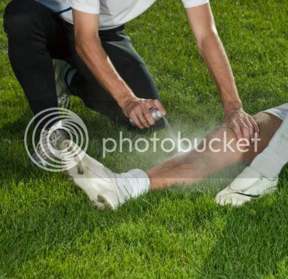 Chlor Etil, Inilah Obat Semprot Untuk Meredakan Cedera Pemain Bola Spray