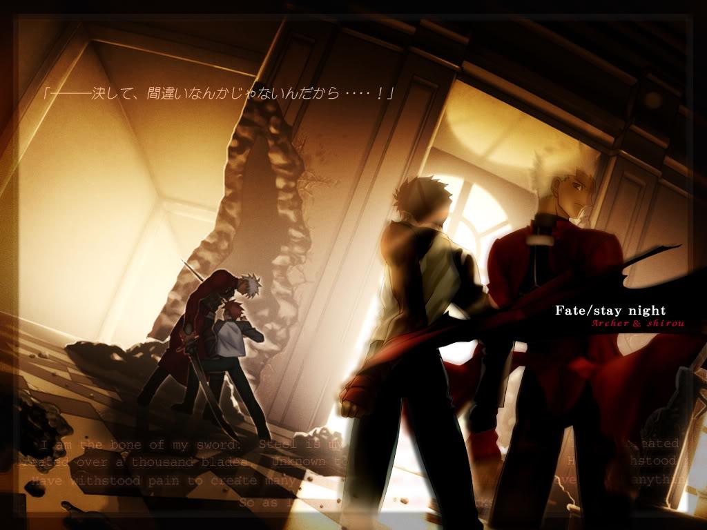 Imagenes de Fate Stay Night. Archer-shiro