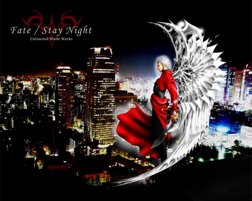 Imagenes de Fate Stay Night. Archer-unlimitedbladeworks