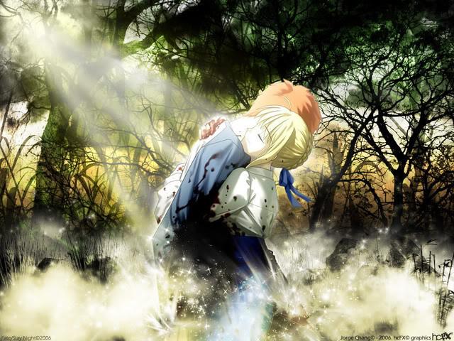 Imagenes de Fate Stay Night. Saber-shiro